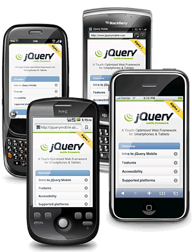 jQuery Mobile: Touch-Optimized Web Framework for Smartphones &amp; Tablets